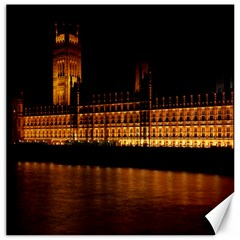 Houses Of Parliament Canvas 16  X 16