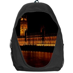 Houses Of Parliament Backpack Bag by Nexatart