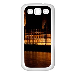 Houses Of Parliament Samsung Galaxy S3 Back Case (white) by Nexatart