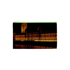 Houses Of Parliament Cosmetic Bag (xs) by Nexatart