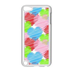 Holidays Occasions Valentine Apple Ipod Touch 5 Case (white)