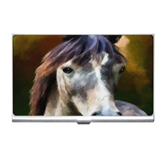 Horse Horse Portrait Animal Business Card Holders