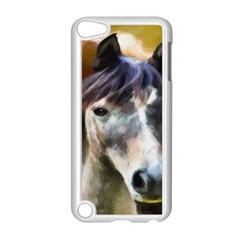 Horse Horse Portrait Animal Apple Ipod Touch 5 Case (white)