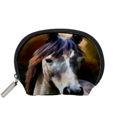 Horse Horse Portrait Animal Accessory Pouches (small)