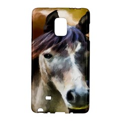 Horse Horse Portrait Animal Galaxy Note Edge by Nexatart