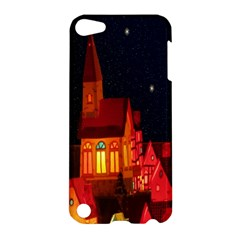 Market Christmas Light Apple Ipod Touch 5 Hardshell Case by Nexatart