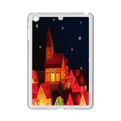 Market Christmas Light Ipad Mini 2 Enamel Coated Cases by Nexatart
