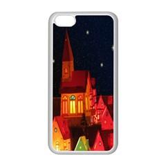 Market Christmas Light Apple Iphone 5c Seamless Case (white) by Nexatart