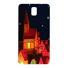 Market Christmas Light Samsung Galaxy Note 3 N9005 Hardshell Back Case
