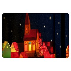 Market Christmas Light Ipad Air Flip by Nexatart