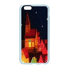 Market Christmas Light Apple Seamless iPhone 6/6S Case (Color) by Nexatart