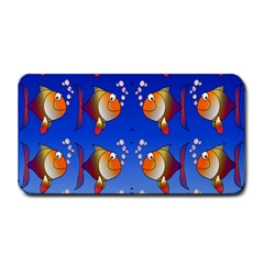 Illustration Fish Pattern Medium Bar Mats