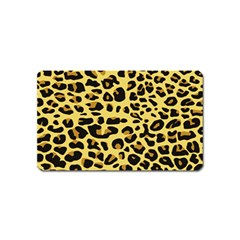 Jaguar Fur Magnet (name Card)