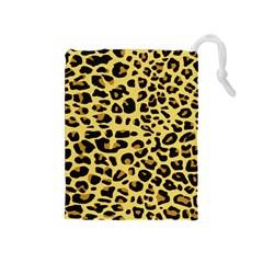 Jaguar Fur Drawstring Pouches (medium)
