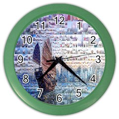 Hong Kong Travel Color Wall Clocks