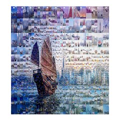 Hong Kong Travel Shower Curtain 66  X 72  (large)
