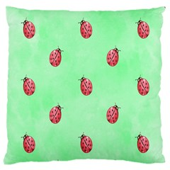 Ladybug Pattern Large Cushion Case (two Sides)