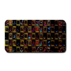 Kaleidoscope Pattern Abstract Art Medium Bar Mats