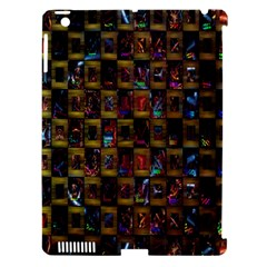 Kaleidoscope Pattern Abstract Art Apple Ipad 3/4 Hardshell Case (compatible With Smart Cover)