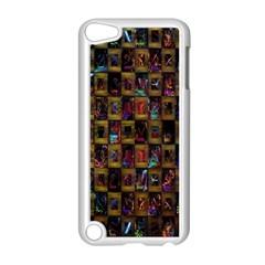 Kaleidoscope Pattern Abstract Art Apple Ipod Touch 5 Case (white)