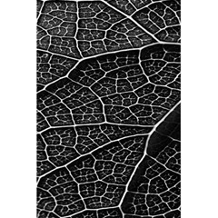 Leaf Pattern  B&w 5 5  X 8 5  Notebooks