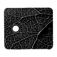 Leaf Pattern  B&w Galaxy S3 (flip/folio)