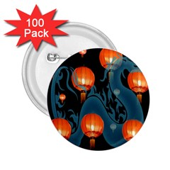 Lampion 2.25  Buttons (100 pack)