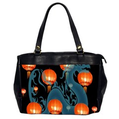 Lampion Office Handbags (2 Sides)
