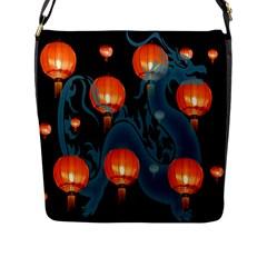 Lampion Flap Messenger Bag (l)
