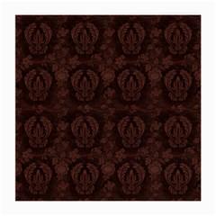 Leaf Pattern Green Wallpaper Tea Leather Medium Glasses Cloth