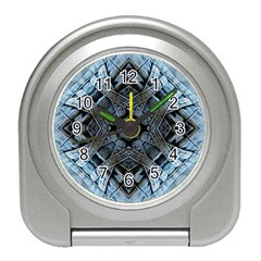 Jeans Background Travel Alarm Clocks