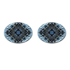 Jeans Background Cufflinks (oval)