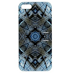 Jeans Background Apple Iphone 5 Hardshell Case With Stand