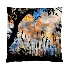 Landscape Sunset Sky Summer Standard Cushion Case (two Sides)