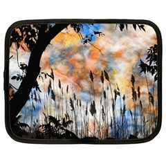 Landscape Sunset Sky Summer Netbook Case (xl)
