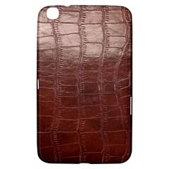 Leather Snake Skin Texture Samsung Galaxy Tab 3 (8 ) T3100 Hardshell Case