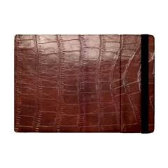 Leather Snake Skin Texture iPad Mini 2 Flip Cases by Nexatart