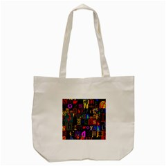 Letters A Abc Alphabet Literacy Tote Bag (cream) by Nexatart