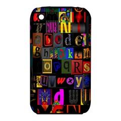 Letters A Abc Alphabet Literacy Iphone 3s/3gs