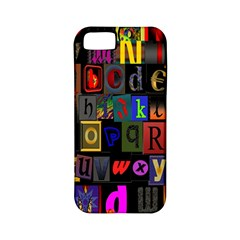 Letters A Abc Alphabet Literacy Apple Iphone 5 Classic Hardshell Case (pc+silicone) by Nexatart
