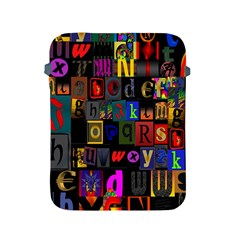 Letters A Abc Alphabet Literacy Apple Ipad 2/3/4 Protective Soft Cases by Nexatart