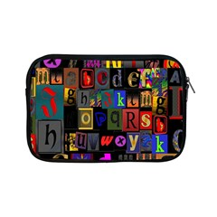 Letters A Abc Alphabet Literacy Apple Ipad Mini Zipper Cases by Nexatart