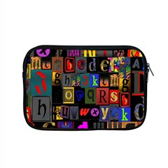 Letters A Abc Alphabet Literacy Apple Macbook Pro 15  Zipper Case by Nexatart