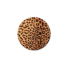 Leopard Print Animal Print Backdrop Golf Ball Marker (4 Pack) by Nexatart