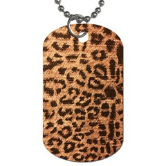Leopard Print Animal Print Backdrop Dog Tag (two Sides)