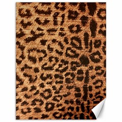 Leopard Print Animal Print Backdrop Canvas 12  X 16   by Nexatart