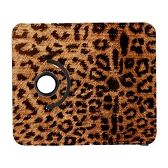 Leopard Print Animal Print Backdrop Galaxy S3 (flip/folio)