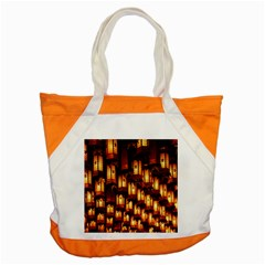 Light Art Pattern Lamp Accent Tote Bag by Nexatart