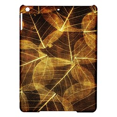 Leaves Autumn Texture Brown Ipad Air Hardshell Cases