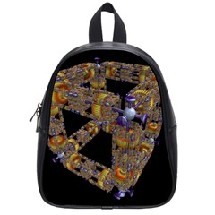 Machine Gear Mechanical Technology School Bags (small)  by Nexatart